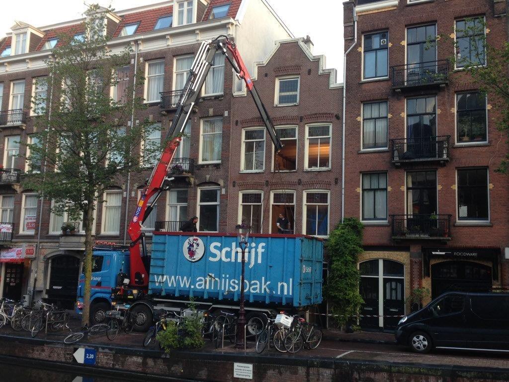 Renovatie grachtenpand Looiersgracht Amsterdam