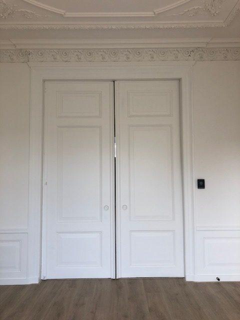 en suite deuren geschilderd