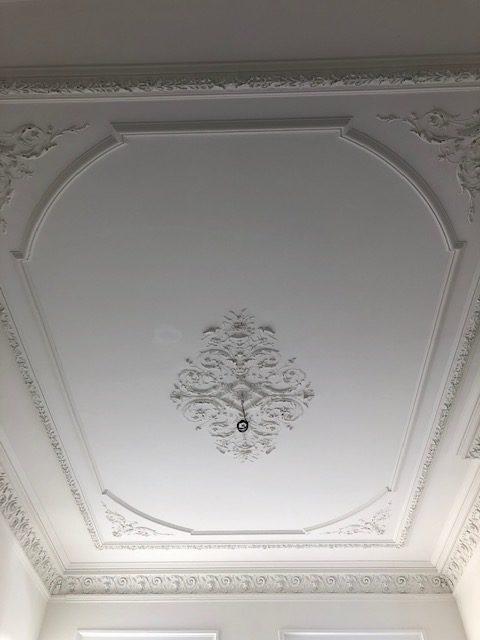 Stuc monumentaal plafond