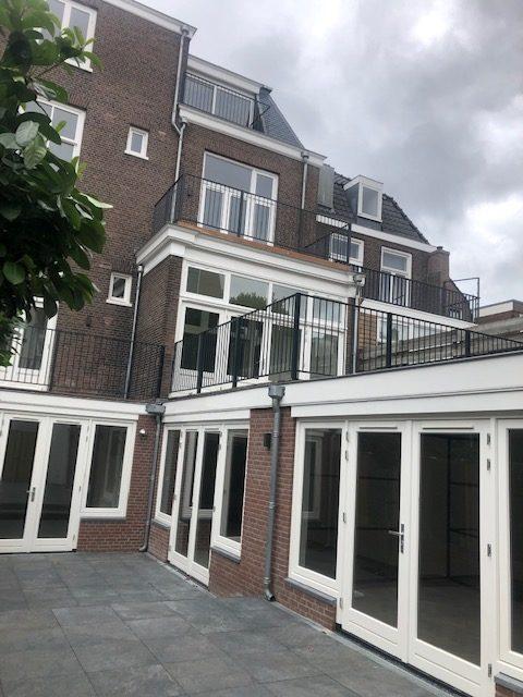 tuinaanzicht nieuw met balkons